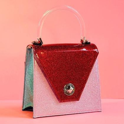 Red Hot mini Sparkling Handbag