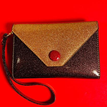 Chocolate Caramel Sparkling Wallet