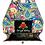 Thumbnail: Black Licorice mini Sparkling Handbag