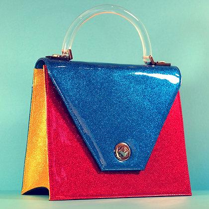 Blue Raspberry Sparkling Handbag