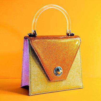 Orange Slice mini Sparkling Handbag