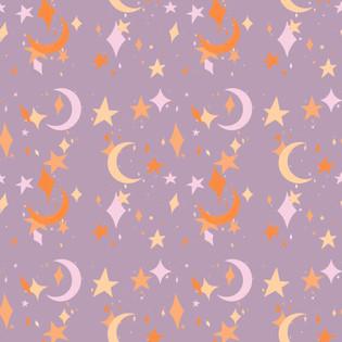 Moon & Stars Pattern