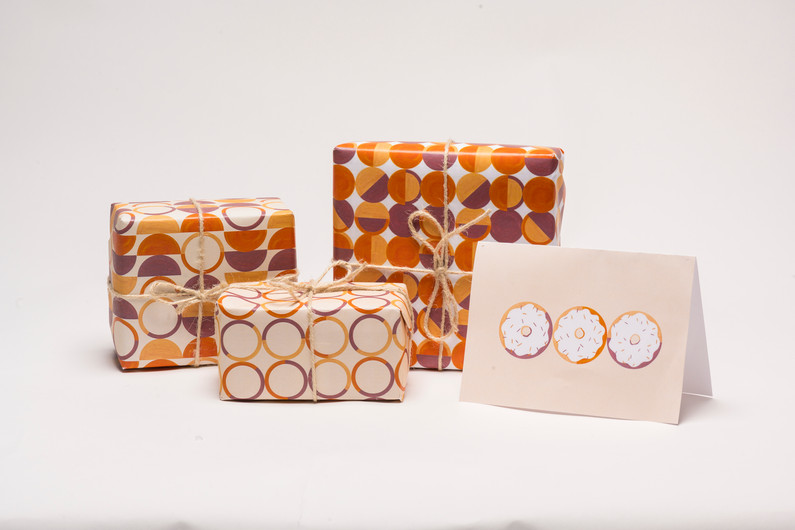 Wrapping Paper & Greeting Card