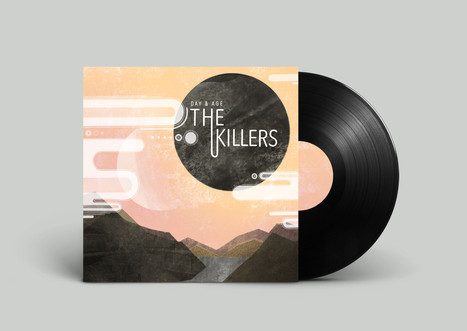 The Killers Album Mockup