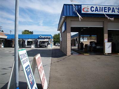 Behind Canepa's Car Wash