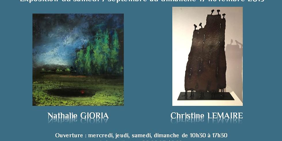Exposition Nathalie GIORIA et Christine LEMAIRE