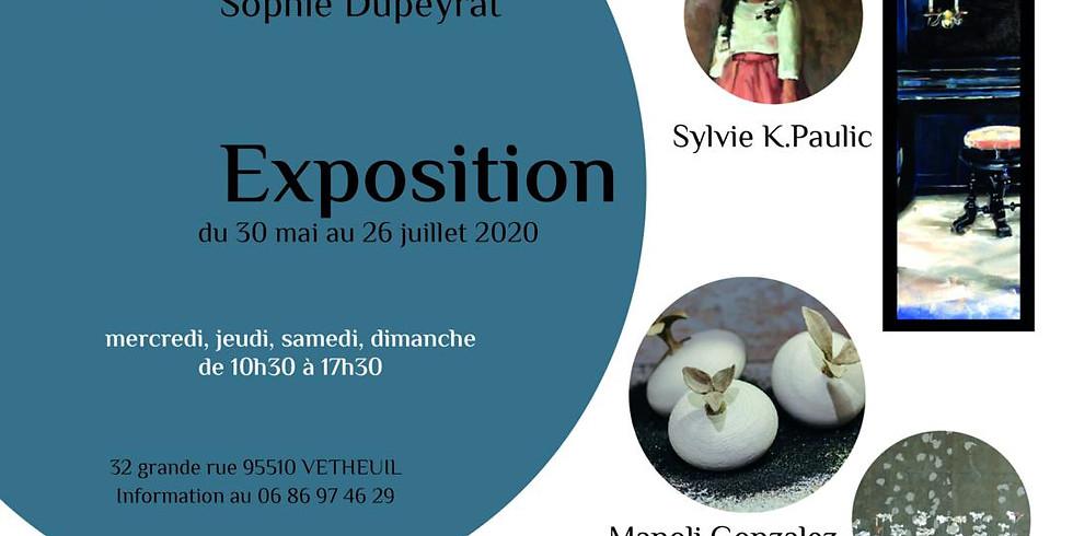 Exposition Sylvie K.Paulic et Manoli Gonzalez