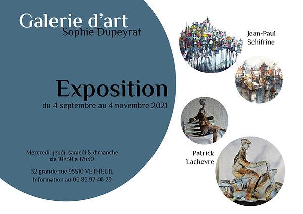 Galerie Sophie Dupeyrat flyer expo 09 21 ronds sans vernissage.jpg