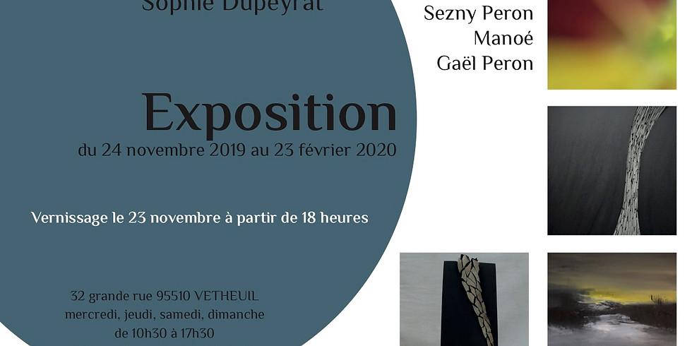 Exposition Alex ISKANDAR, Sezny PERON, Manoé et Gaël PERON (2)