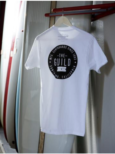 Watermans Guild Razor Tee - White