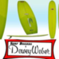 "Dewey Weber Performer 9'4"" Series,  _tri"
