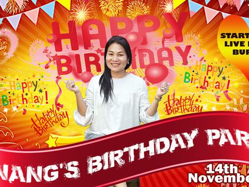 It's Party Time K.Nang's Style!