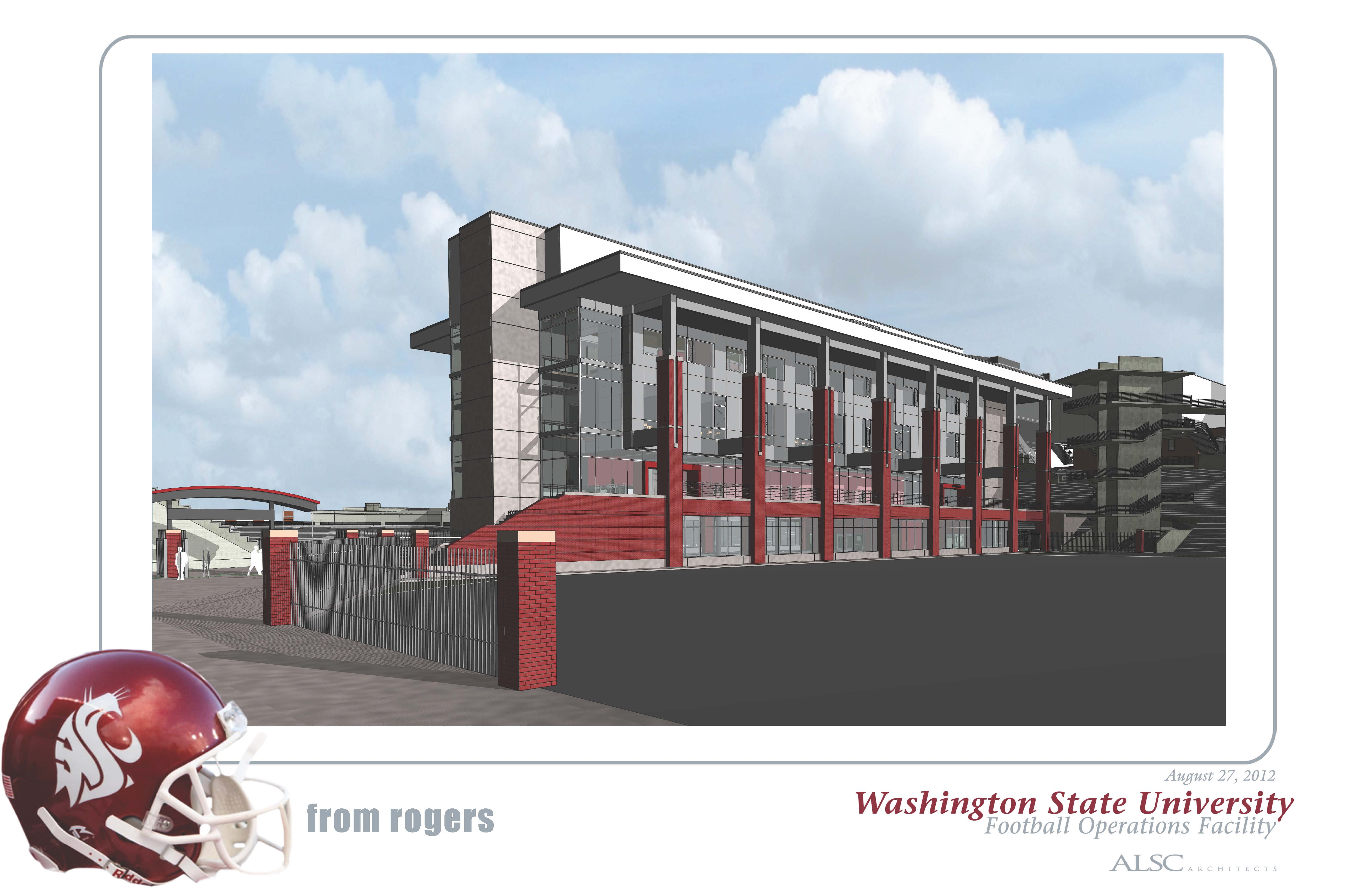 WSU - Football Operations Building