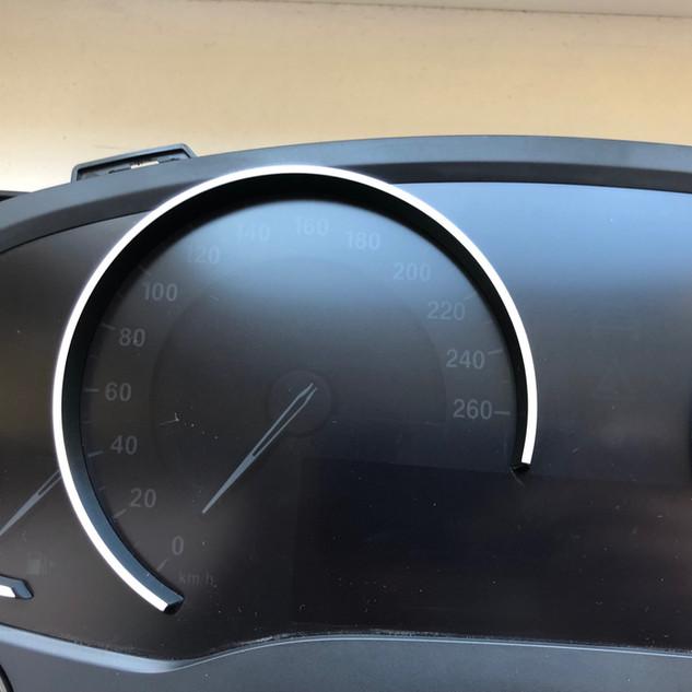 BMW G02 spidometras