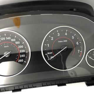 BMW F30 SPIDOMETRAS