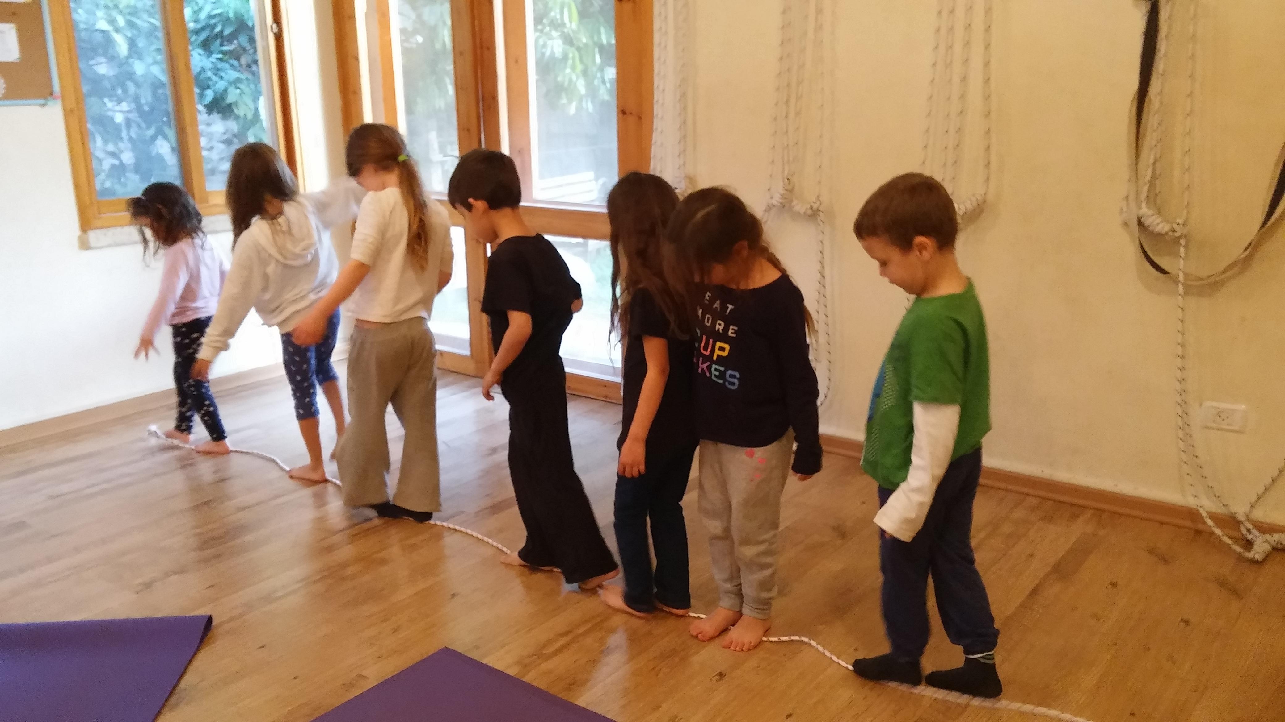 יוגה לילדים ברמת השרון