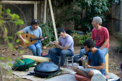 מנגנים באירוע פתיחה