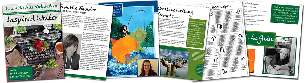 Preview of the Inspired Writer Magazine