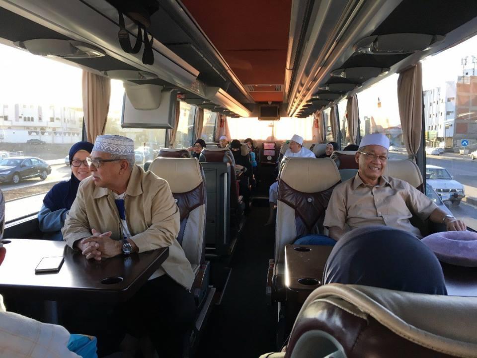Bas VVIP antara Mekah-Madinah