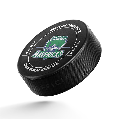 Official Game Puck - Inaugural Season