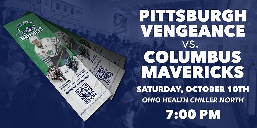 Columbus Mavericks vs. Pittsburgh Vengeance - October 10th (Pittsburgh Fans)
