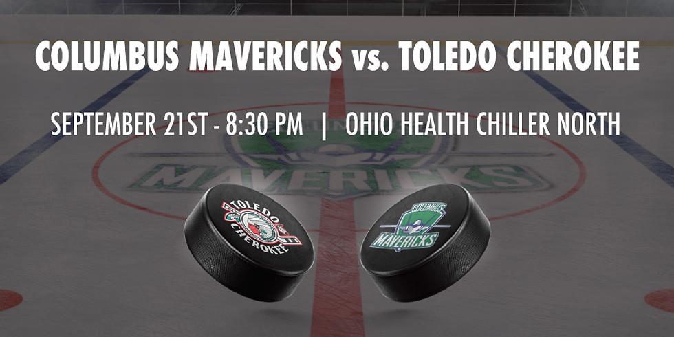 Columbus Mavericks vs. Toledo Cherokee - September 21st