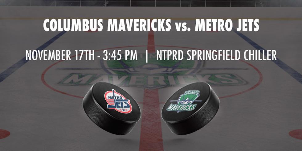 Columbus Mavericks vs. Metro Jets - November 17th