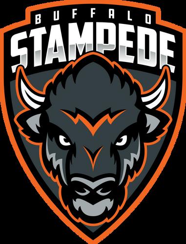 Buffalo Stampede Full Logo