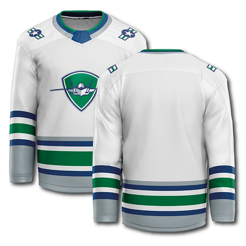 Official Game Jersey - Home White (Blank)