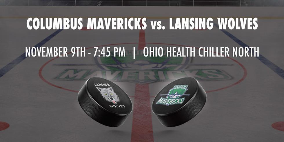 Columbus Mavericks vs. Lansing Wolves - November 9th
