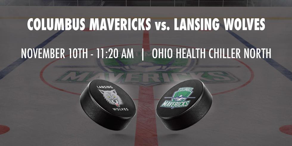 Columbus Mavericks vs. Lansing Wolves - November 10th