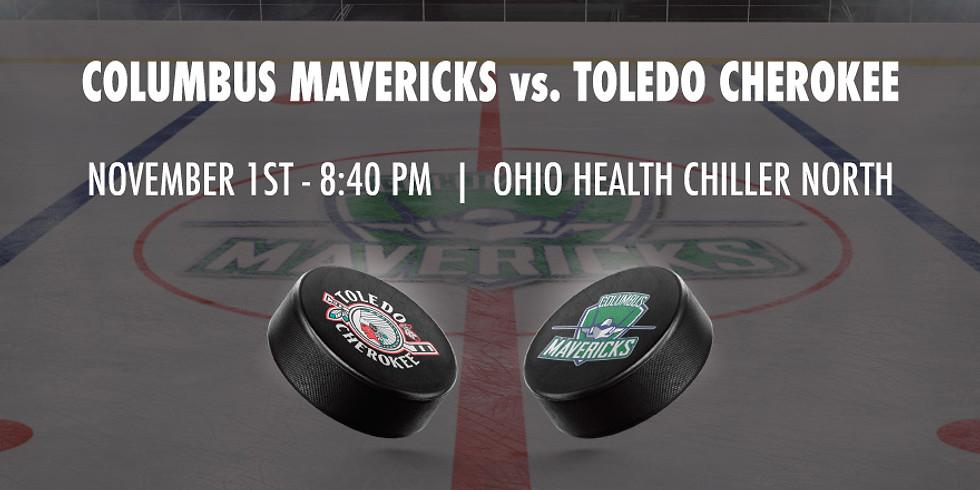 Columbus Mavericks vs. Toledo Cherokee - November 1st