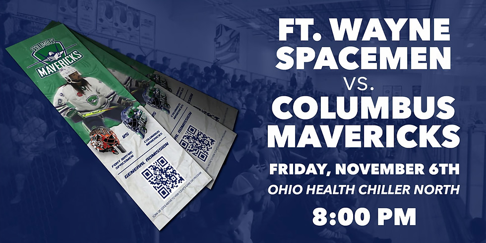 Columbus Mavericks vs. Ft. Wayne Spacemen - December 11th