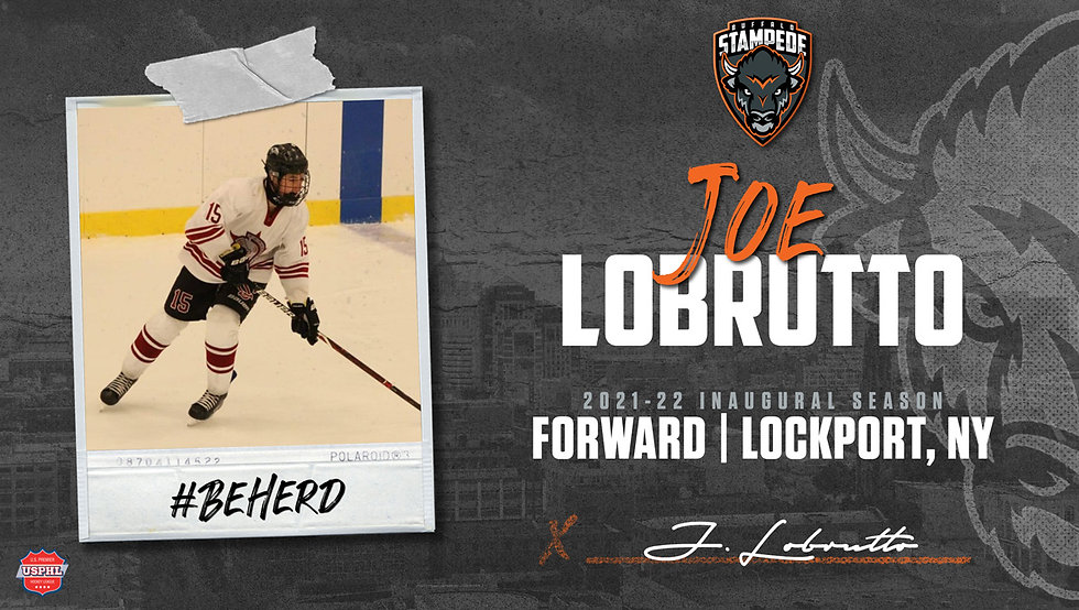 Lobrutto Signs with Stampede
