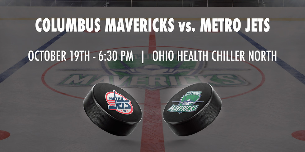 Columbus Mavericks vs. Metro Jets - October 19th