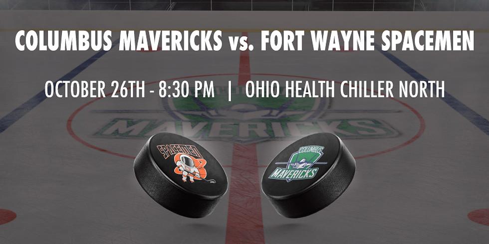Columbus Mavericks vs. Fort Wayne Spacemen - October 26th