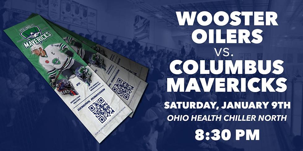Columbus Mavericks vs. Wooster Oilers - January 9th