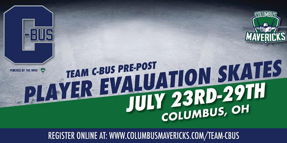 Team C-Bus Pre/Post Player Evaluation Skates