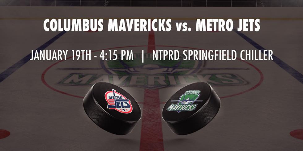 Columbus Mavericks vs. Metro Jets - January 19th