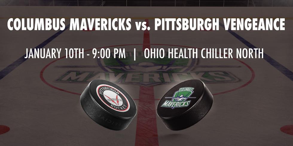 Columbus Mavericks vs. Pittsburgh Vengeance - January 10th