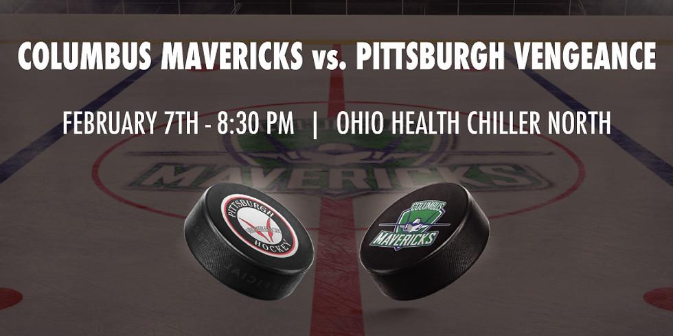 Columbus Mavericks vs. Pittsburgh Vengeance - February 7th