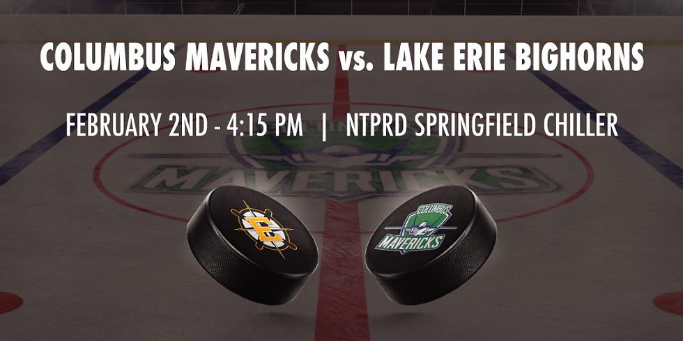 Columbus Mavericks vs. Lake Erie Bighorns - February 2nd