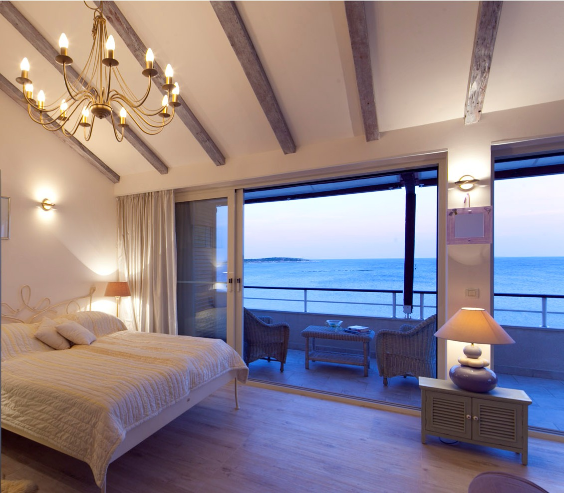Wake up with stunning sea views