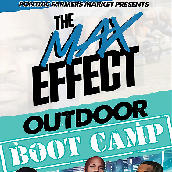 The Max Effect Outdoor Boot Camp