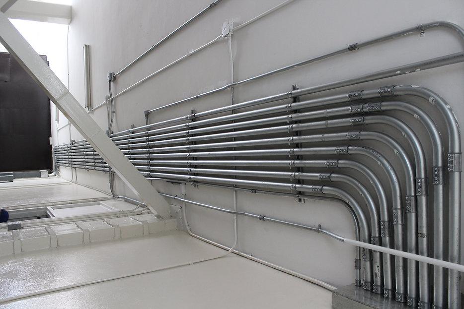 Ejemplo de una instalación eléctrica profesional