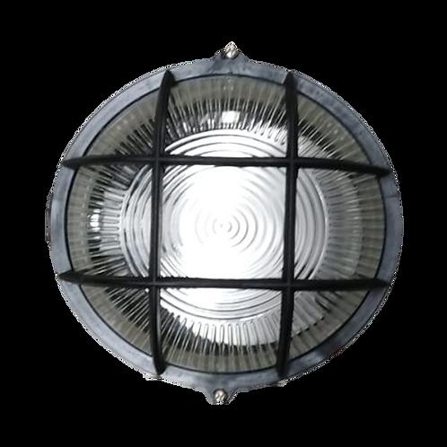 Luminario con rejilla para intemperie