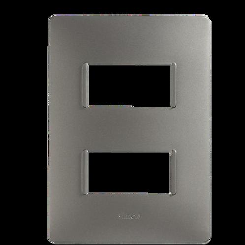 Placa 2 modulos CROMA
