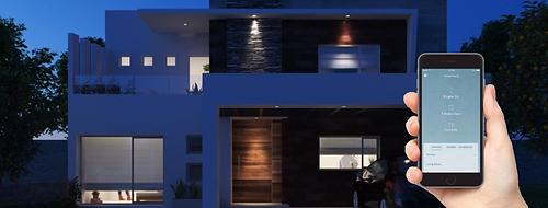 Casa automatizada con Conekta instalaciones