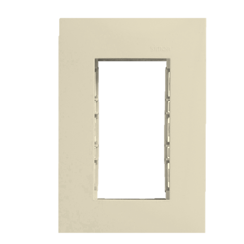 Placa 3 modulos Simon 25