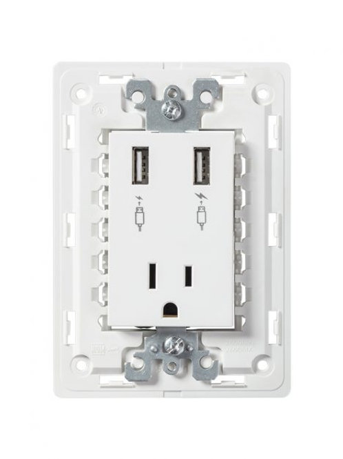 Contacto y cargadores USB
